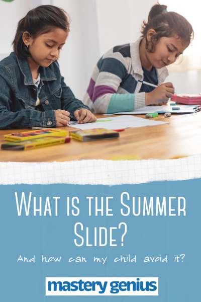 What is the Summer Slide_