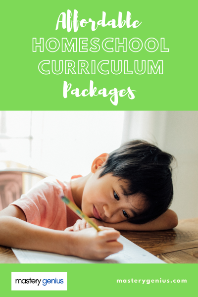 affordable homeschool curriculum packages