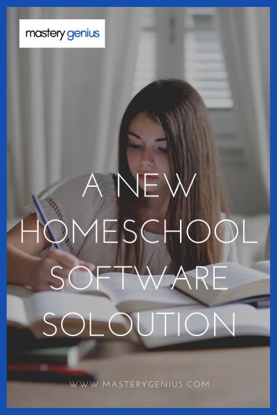 homeschool software solution