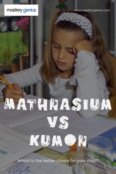 mathnasium vs kumon